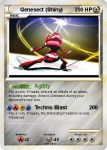 Genesect Pokemon Card by lorddrega