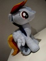 My Little Pony - Rainbow Dash Plush by Erdbeerprinz