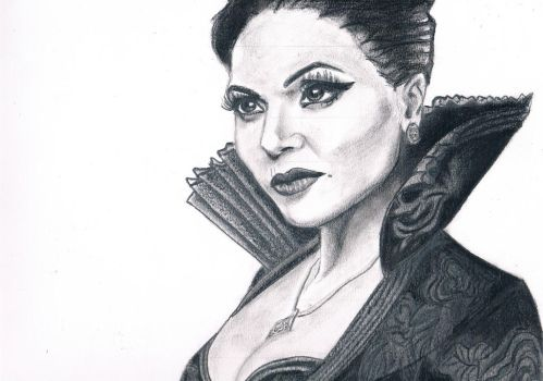 Regina once upon a time by laura-93