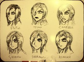 Faces: 6 Styles 3 by PhiTuS