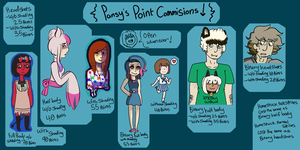 Commision info!! by PrincessDeerface