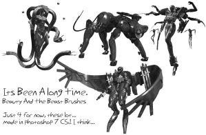 MGS4 Brushes by IvanRaikov