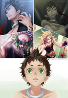 Deadman Wonderland - Team of Death by staf93