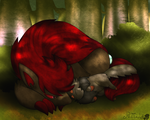 Shady Napping Spot by RedImpLight