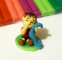 Linus in plasticine 2 by Bele-xb7