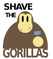 Shave the Gorillas by Mr-M7