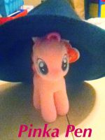 Pinka In Shannon's Hat by HalfWolfStudios