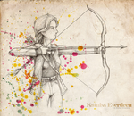 Katniss Everdeen by eliska-olsanska