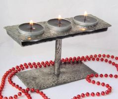 Original Stainless Steel Candle Holder by WoolArtToys