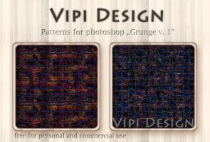 Patterns - Grunge v. 1 by elixa-geg