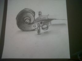 Violin Pencil by McMuffinNinjaFluffer