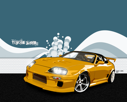 Toyota Supra by circlegreen