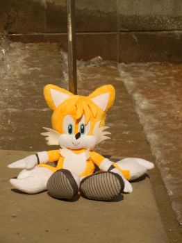 My New Tails Plush by MarkyKill68