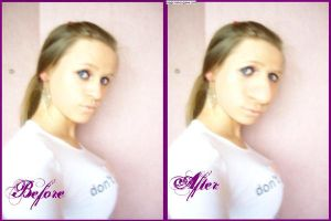 Me before and after by MeAndMyHand