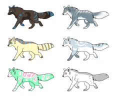 Dogs adoptable 7 all gone by CaptainDashund