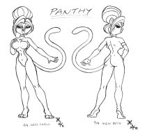 Panthy Character Sheet 01 by scificat