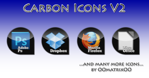 Carbon Icons V2 by OOmatrixOO
