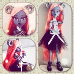 my little goat girl monsterhighcustom by darkPhilomena