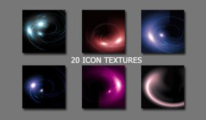20 Light Icon Textures by asphyxia219