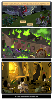 Fallout Equestria : Days gone by page1 by Corelle-Vairel