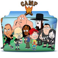 Camp WWE - Folder Icom by RST-420