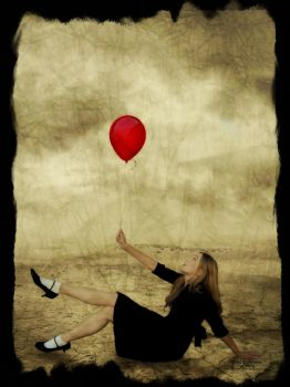 My Red Balloon by FairieGoodMother