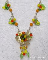 TROPICAL PASSION NECKLACE by 1arcticfox