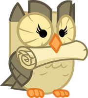 The delivery owl by porygon2z