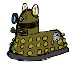 My Little DaLEK by Snapai