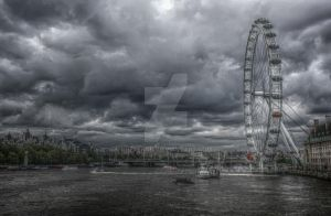 London Eye by PeteNoir