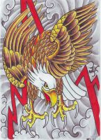 Lightning Eagle 2008 by vikingtattoo