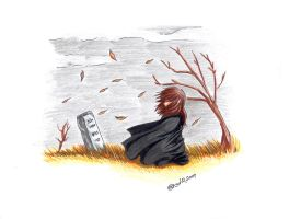In Mourning no picture pose by creativegoth18