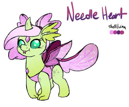 (old) NextGen6-Needle heart by Waffleponypanda