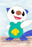 Oshawott finished by ShelandryStudio