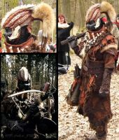 Yshara the orc (LARP costume) by Yshara