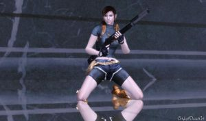Claire Redfield RE-DSC CV No Vest (Updated) by bstylez