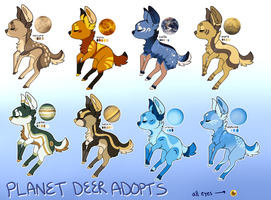 Planet Deer Adoptables - closed by Sevech