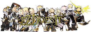 [Elsword] Angelic Hunters by Elphin-Zephyr
