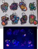 Keychains - Sparkuldawgz collection 1 by therougecat