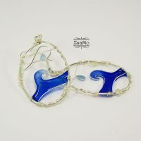 The Waves of the See Earrings by Zsamo