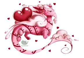 Drifting Dragon - Valentine's Special - Available by OuttatheBlueSkye