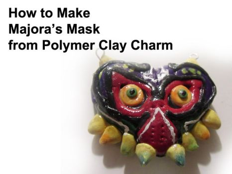 Majora's Mask Charm from Polymer Clay Tutorial by pound-key