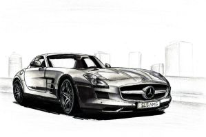 Mercedes SLS AMG by SL-Cardesign