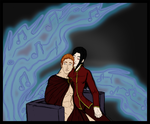 Piper + Asmodeus - Ghost Notes by synthia-alexander