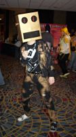 MomoCon 2012: Party Rock Anthem Robot by DaisyPhantom