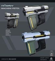 Cross-Fate - Machine Pistol Texturing by davislim