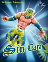 SIN CARA MISTICO by JaZaDesign