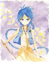 Magi: Aladdin Watercolour by Tiha90