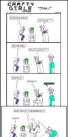 Minecraft Comic: CraftyGirls Pg 40 by TomBoy-Comics