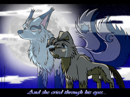 And She Cried Through His Eyes by InuHoshi